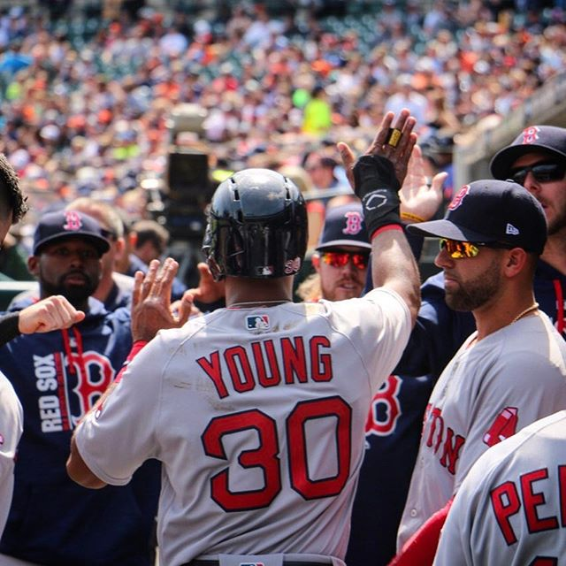 RECAP: Red Sox pick up first road victory of season.