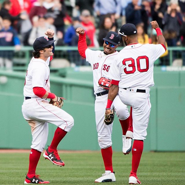 RECAP: Red Sox capitalize in eighth to sweep Pirates; win 4-3.