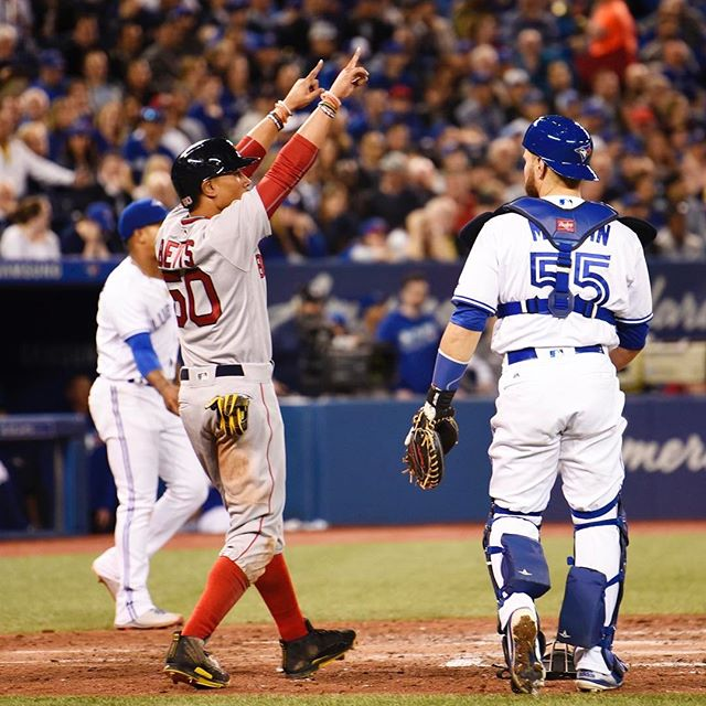 RECAP: Red Sox survive late threat to defeat Blue Jays in series opener.