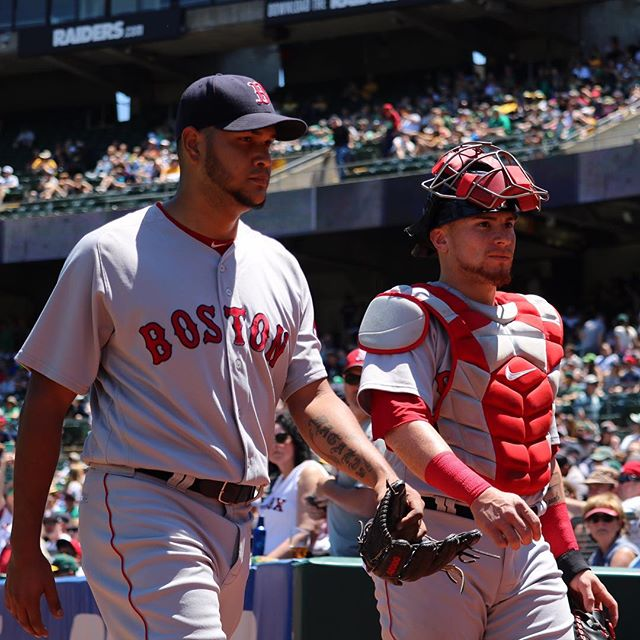RECAP: Eduardo Rodriguez pitches eight solid innings as #RedSox take final game in Oakland, 12-3.