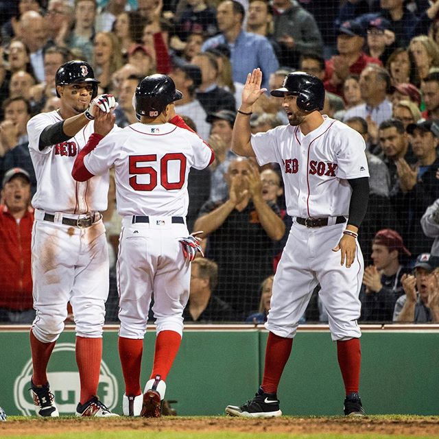 RECAP: #RedSox get outhit 13-12; still win11-6.