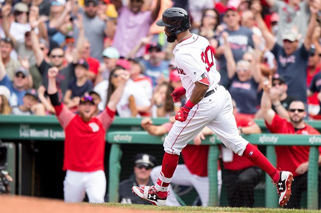 RECAP: Chris Young homers twice, Eduardo Nunez once as #RedSox complete sweep of White Sox.