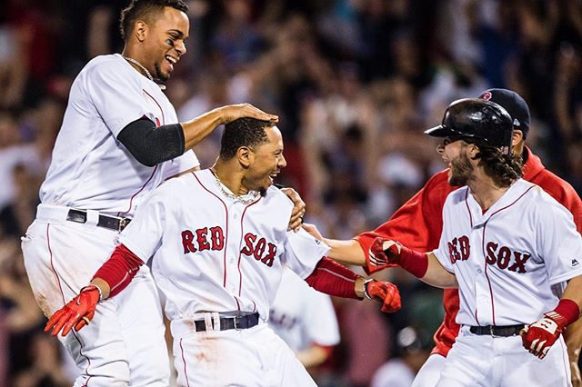 RECAP: Mookie Betts saves the day; #RedSox defeat Cardinals 5-4.