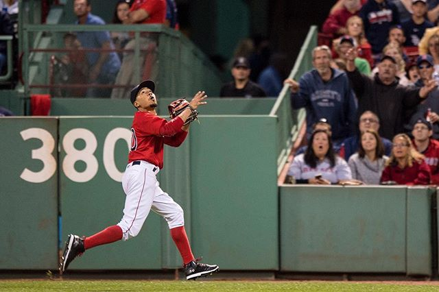 RECAP: Mookie Betts dominates the first inning, Drew Pomeranz and #RedSox go on to beat Rays 9-3.