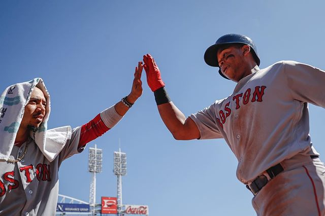RECAP: In a game they had no business winning, Mookie Betts delivers clutch performance for #RedSox in 5-4 win.