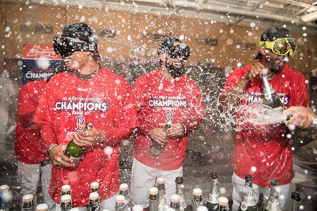 RECAP: #REDSOX ARE DIVISION CHAMPS FOR THE SECOND YEAR IN A ROW.