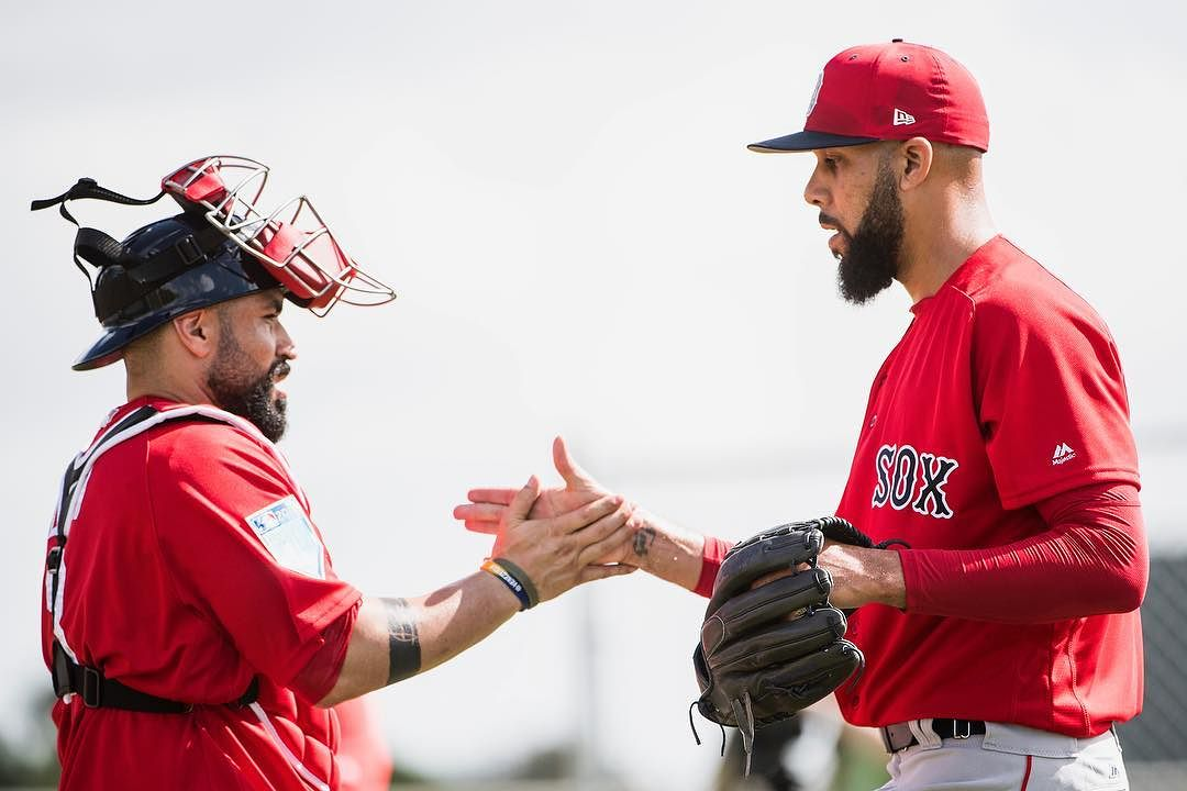 David Price Threw a Simulated Game for the #RedSox Today.