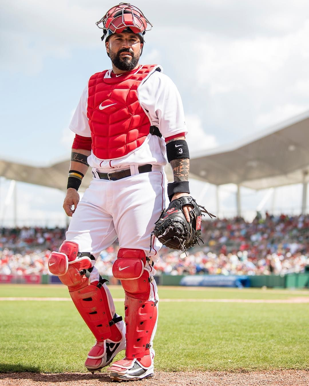 Sandy Leon and Blake Swihart Combined to Hit Three Home Runs for the #RedSox Today.