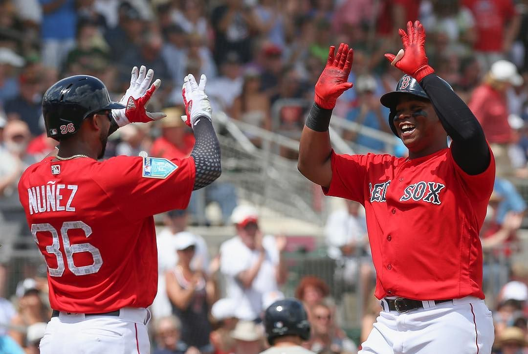 MLB.com Ranks #RedSox Lineup as Fourth Best in Baseball to Start the Season.