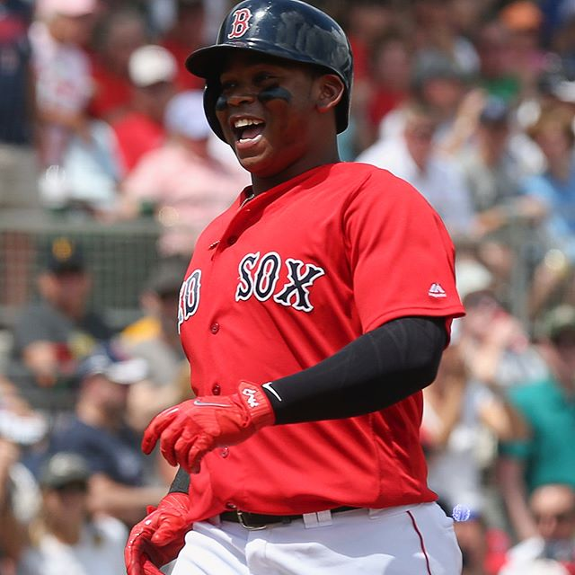 Rafael Devers Left Tonight's Game After a Scary Collision at Home Plate.
