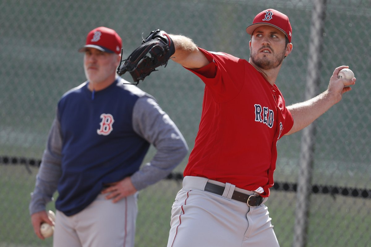 Drew Pomeranz Leaves First Spring Training Start with Left Forearm Tightness.