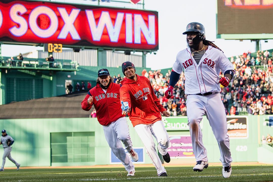 RECAP: Hanley Ramirez Comes Through for #RedSox Again in 3-2 Opening Day Win.
