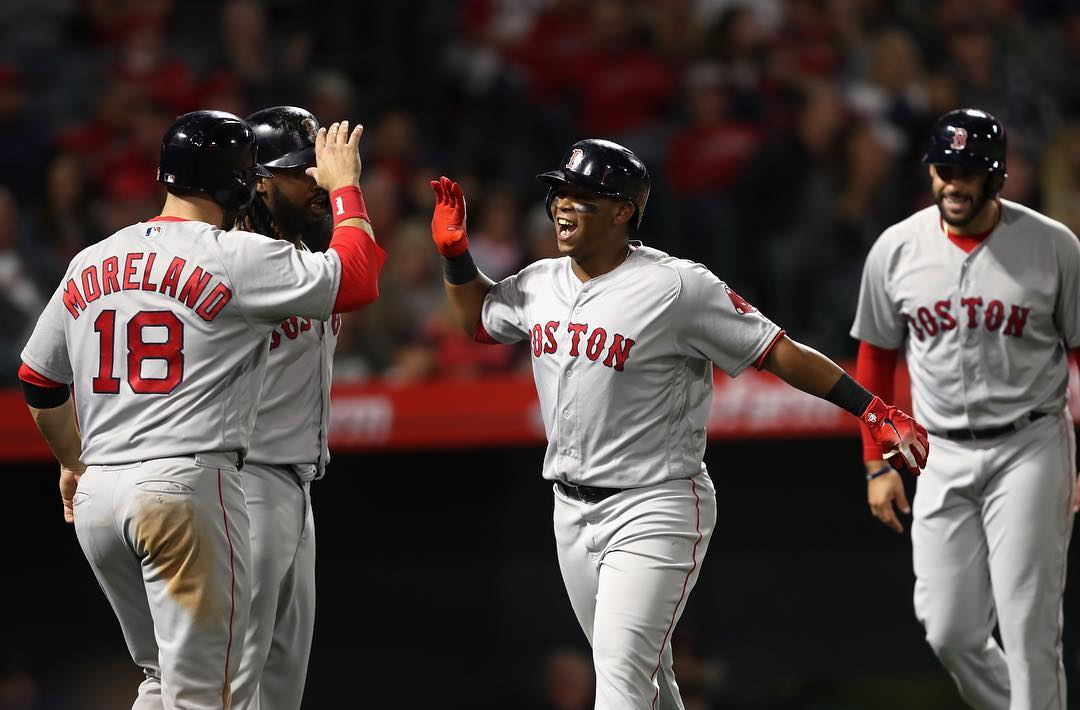 RECAP: Rafael Devers Delivers First Career Grand Slam as #RedSox Obliterate Angels Again.
