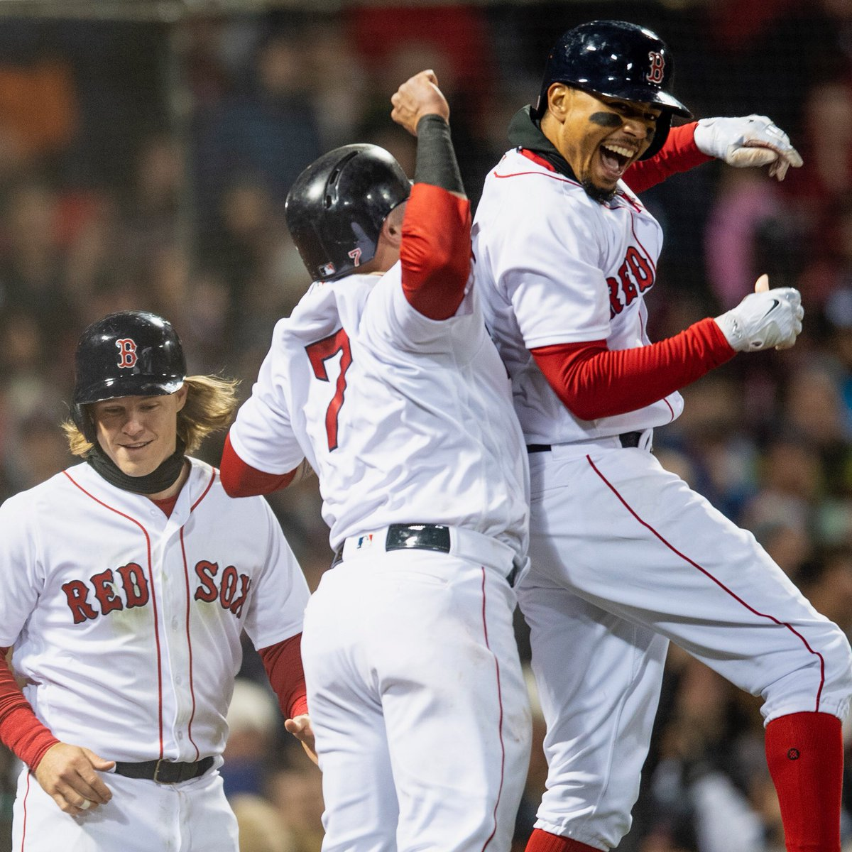 RECAP: In Their First Meeting of the Season, the #RedSox Blew out the New York Yankees.