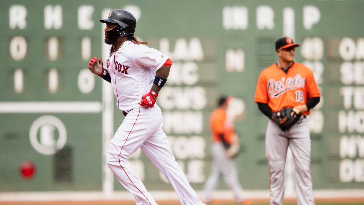 RECAP: A 10-3 Win over the Orioles Has the #RedSox off to Their Best Start in Franchise History.