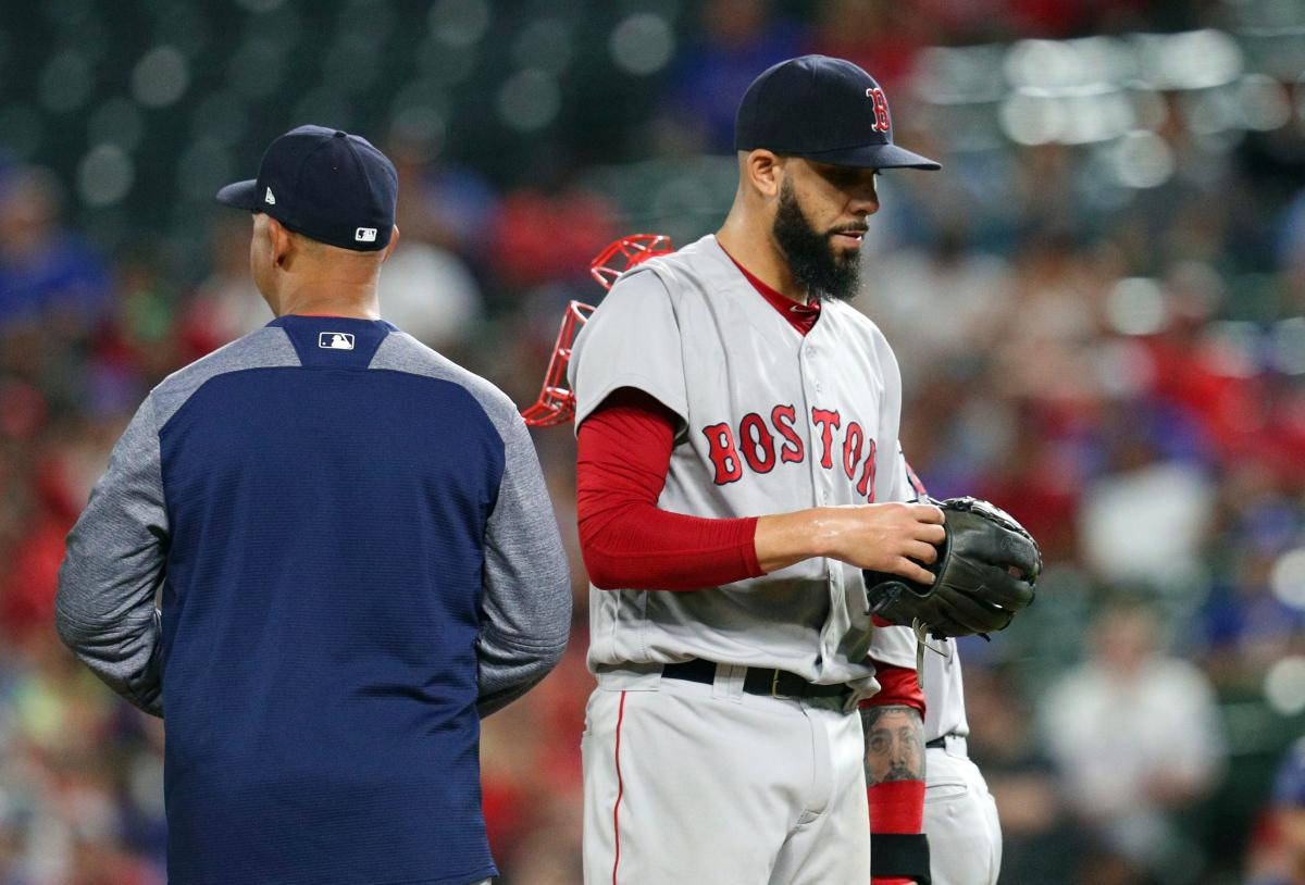 RECAP: David Price Exits in Fourth Inning as #RedSox Drop Stinker to Rangers 11-5.