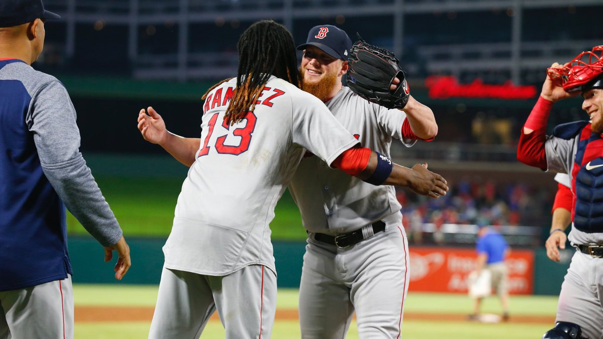 RECAP: Craig Kimbrel Picks up 300th Career Save as #RedSox Win Tight One in Texas.