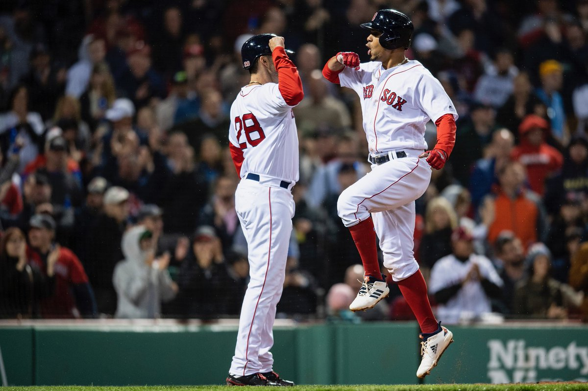 RECAP: JD Martinez and Xander Bogaerts Both Go Yard as #RedSox Salvage Series Against Oakland with a 6-4 Win.