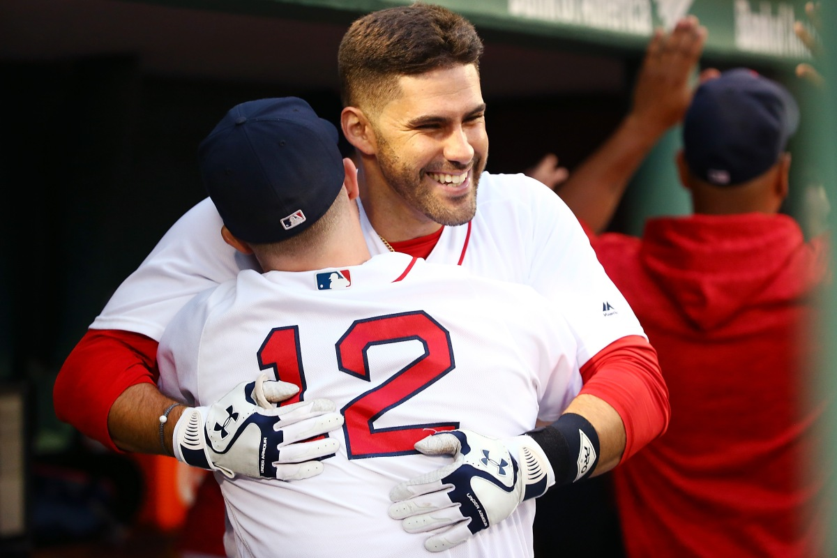 RECAP: JD Martinez Makes History as #RedSox Halt Angels Comeback Attempt in 9-6 Win.