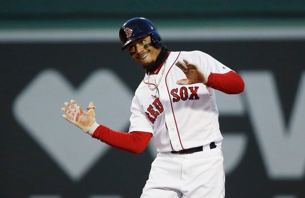Mookie Betts Is Back and Leading Things off for the #RedSox Tonight inBaltimore.
