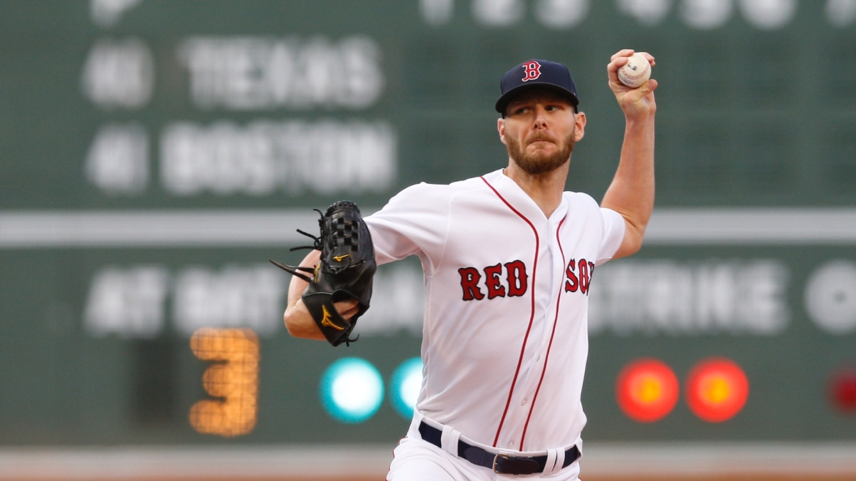 Chris Sale Named All-Star Game Starting Pitcher for Third Consecutive Year.