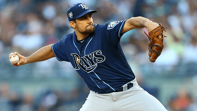#RedSox Acquire RHP Nathan Eovaldi from Rays in Exchange for LHP Jalen Beeks.