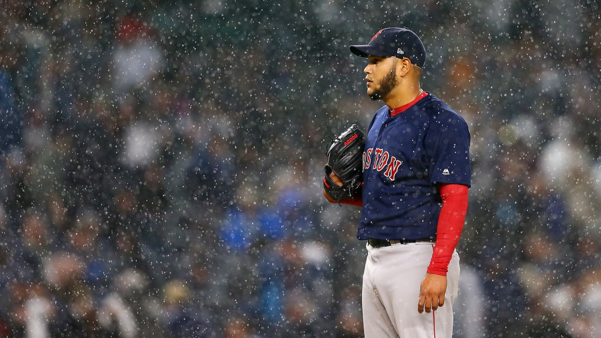 Eduardo Rodriguez Officially Set to Rejoin #RedSox Rotation in Chicago This Weekend.