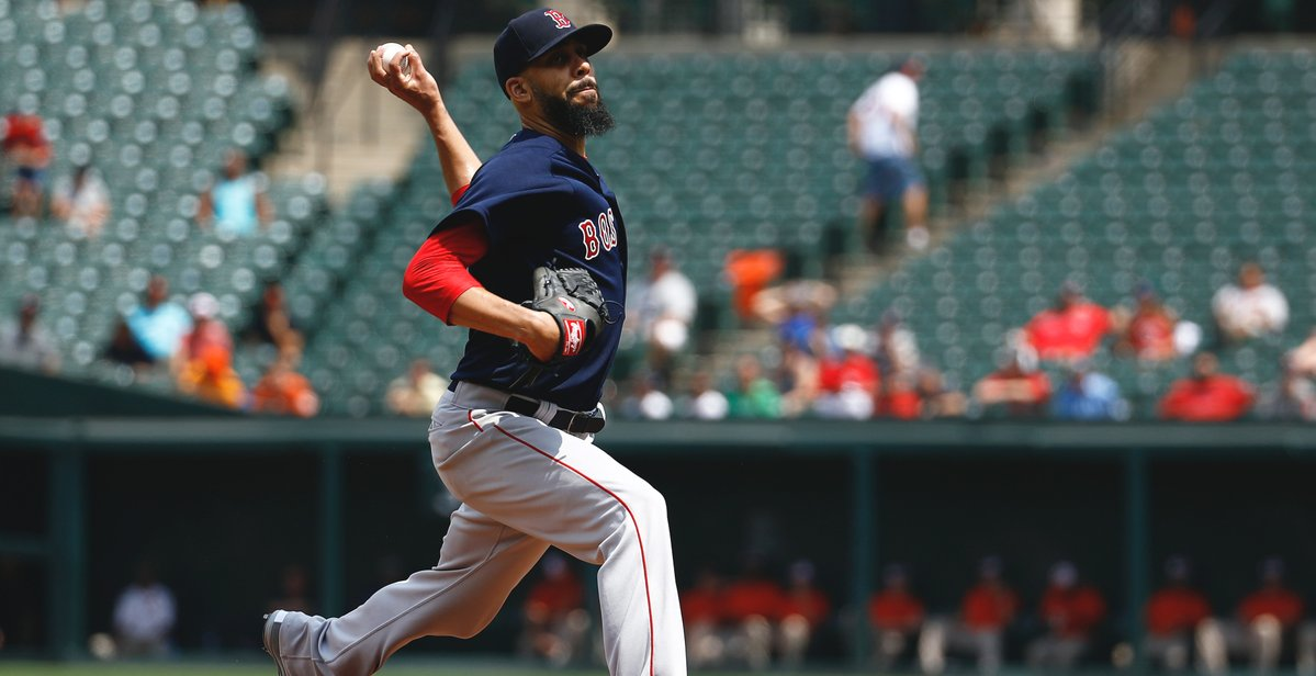 RECAP: David Price Fans 10, Tosses Gem as Jackie Bradley Jr. Homers Twice and #RedSox Blank Orioles in First Game of Doubleheader.