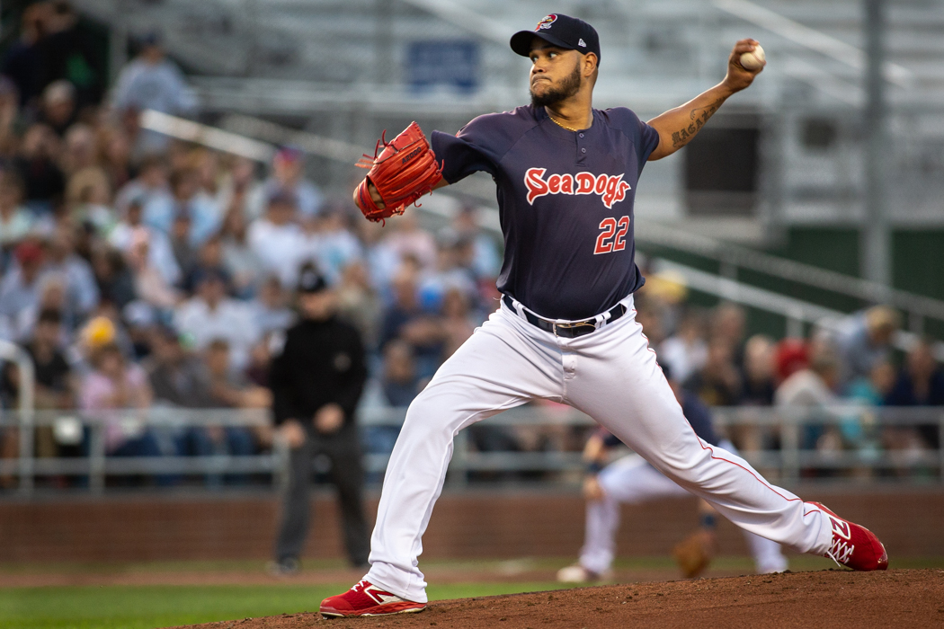 Eduardo Rodriguez Tosses Four Scoreless Innings in First Rehab Start in Portland.