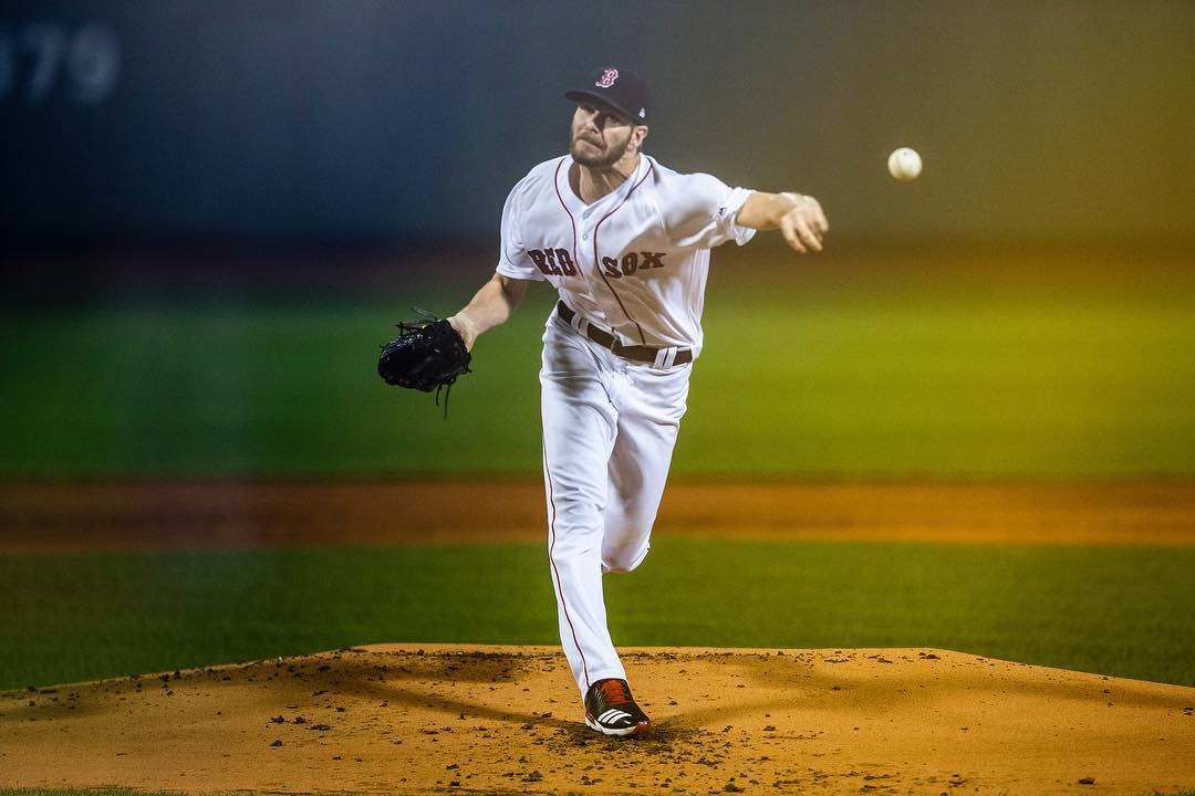 Chris Sale Tosses Scoreless Inning in First Start Since August 12th for #RedSox.