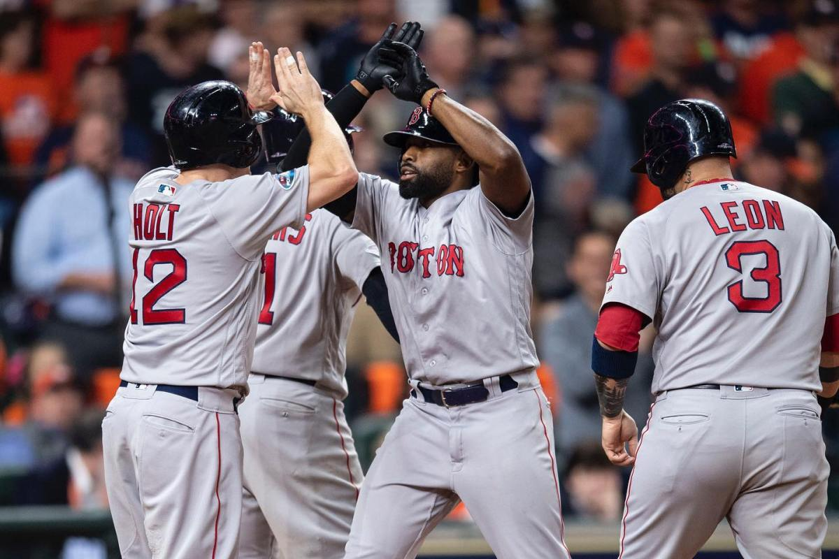 RECAP: Jackie Bradley Jr. Blasts Grand Slam as #RedSox Take 2-1 Edge over Astros in ALCS.