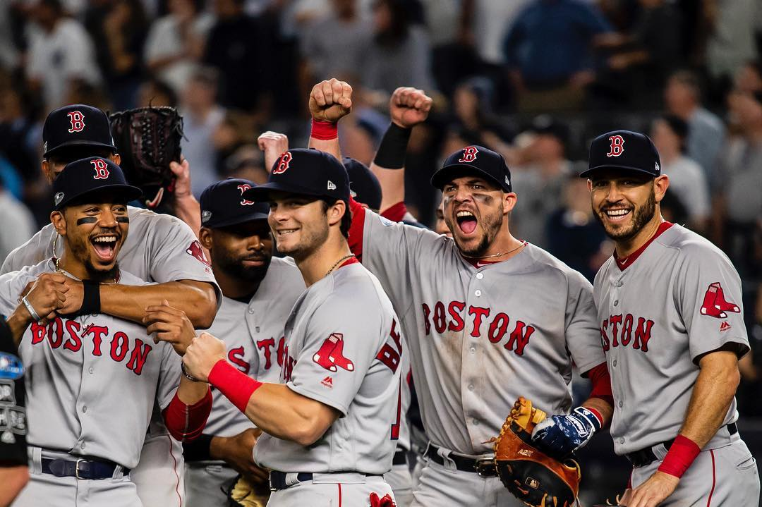 RECAP: #RedSox Advance to ALCS Following Dramatic 4-3 Win over Yankees in New York.