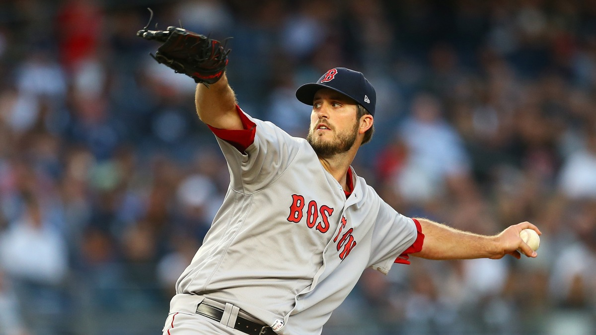 #RedSox Announce 25-Man World Series Roster with Drew Pomeranz, Not Steven Wright, Taking Brandon Workman's Spot.