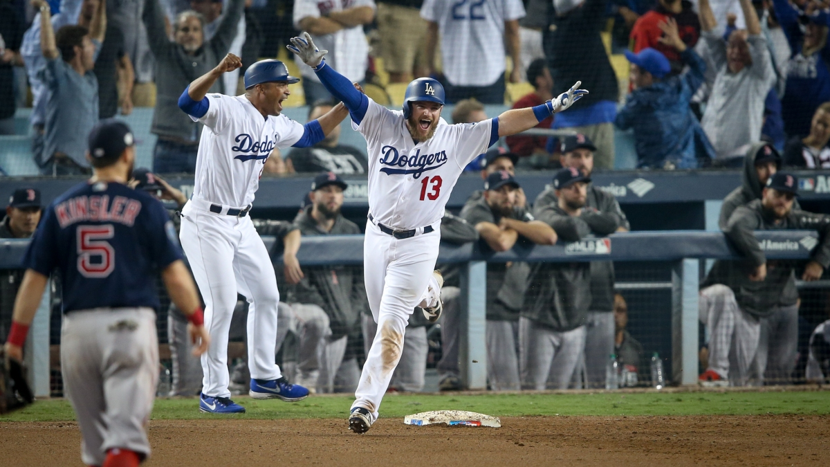 RECAP: Max Muncy Walks It off for Dodgers in 18th as #RedSox Drop Longest World Series Game in MLBHisory.
