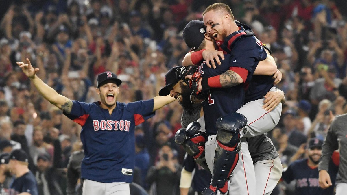 RECAP: David Price Hurls Seven-Plus Masterful Innings and Steve Pearce Homers Twice as #RedSox Clinch 2018 World Series Title.