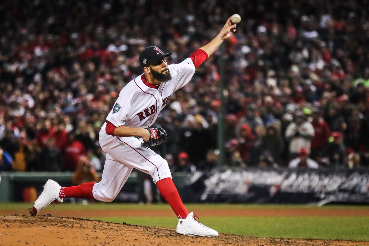 RECAP: David Price Fans Five over Six Quality Innings as #RedSox Head to Los Angeles Two Wins Away from World SeriesTitle.