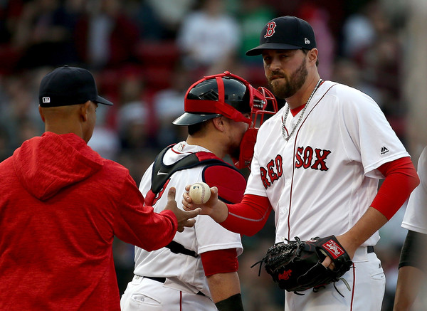 RHP Heath Hembree to Take Steven Wright's Spot on #RedSox ALDS Roster.