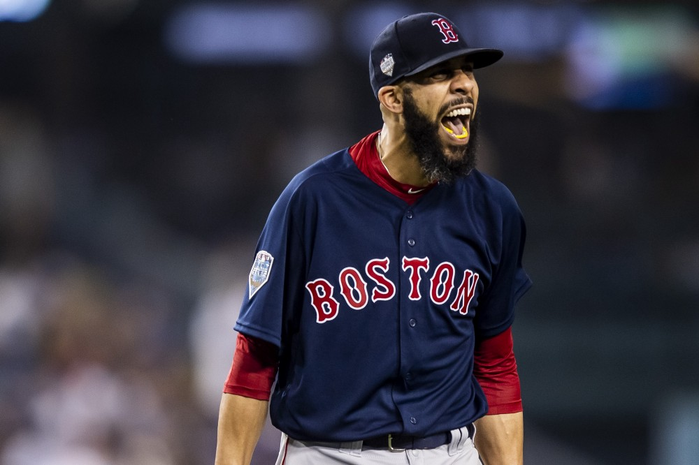 David Price Is Named 2018 American League Comeback Player of the Year.