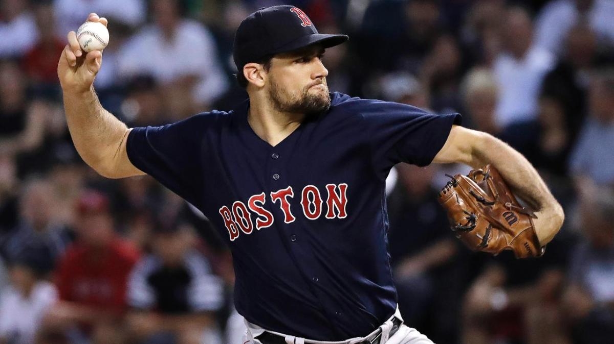 Nine Teams, Including the #RedSox, Are Reportedly Interested in Free Agent RHP Nathan Eovaldi.