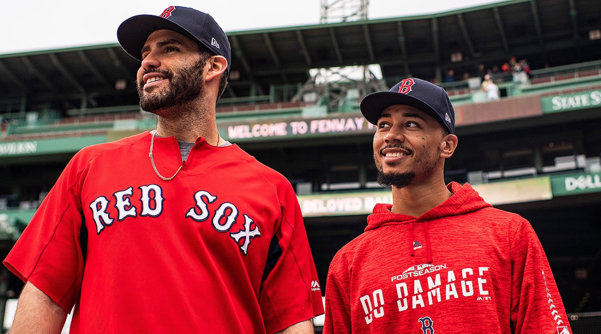 Mookie Betts and JD Martinez Collect Three Silver Slugger Awards as Award Season Rolls on for #RedSox.