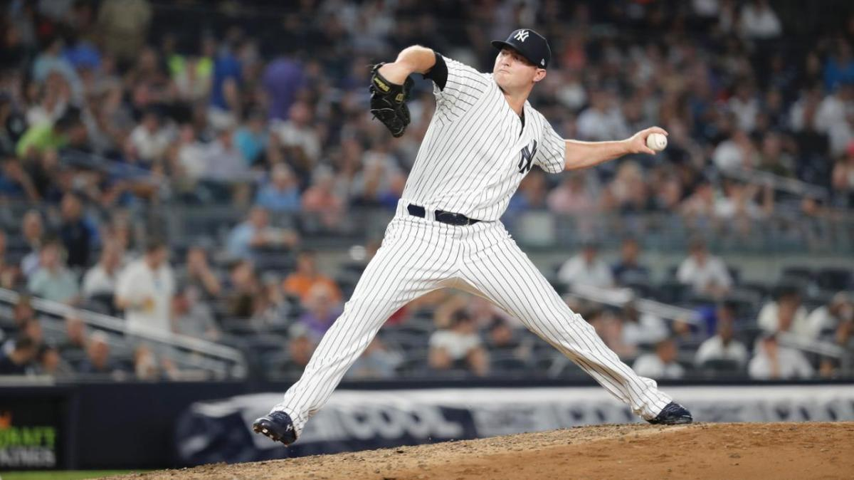 New York Yankees Agree to Three-Year Deal with LHP ZachBritton.
