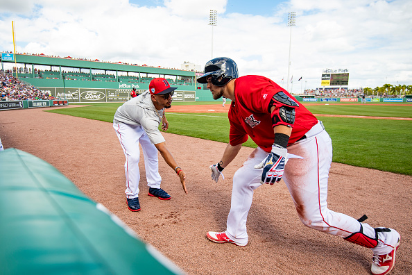 Top Prospect Michael Chavis Homers as #RedSox Open up Grapefruit League Play with 8-5 Win over Yankees
