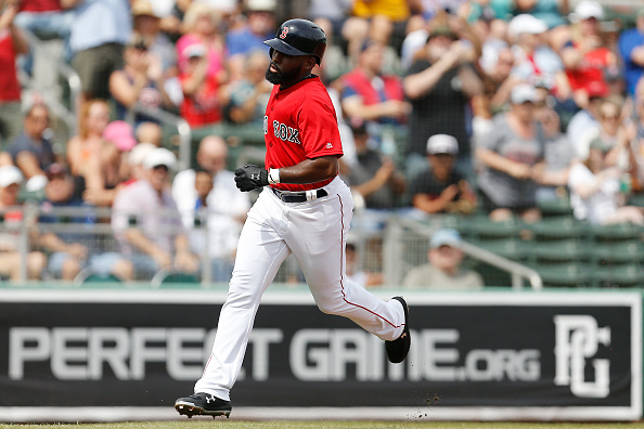 Jackie Bradley Jr. Homers Again and Other Notes from Wednesday's #RedSox Split-Squad Action
