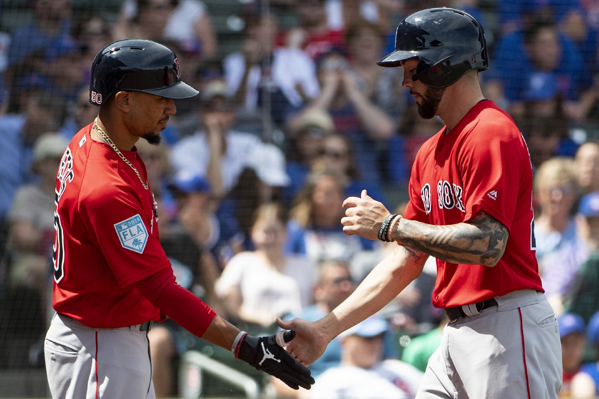 Blake Swihart Homers and Sam Travis Blasts Grand Slam as #RedSox Fall to Cubs in Spring Finale