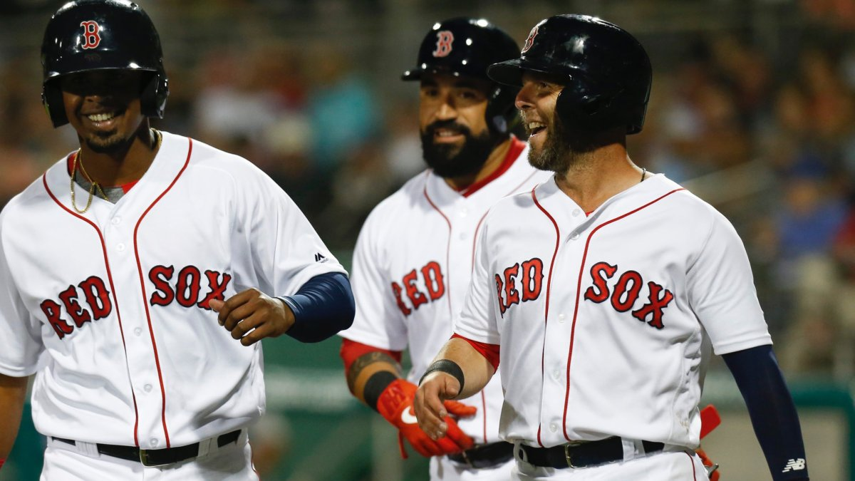 Dustin Pedroia Collects Two Hits, One RBI as #RedSox Cruise past Rays in Shutout Fashion