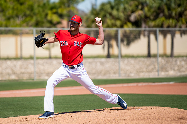 #RedSox' Chris Sale Tosses Three Innings in Minor League Game Monday
