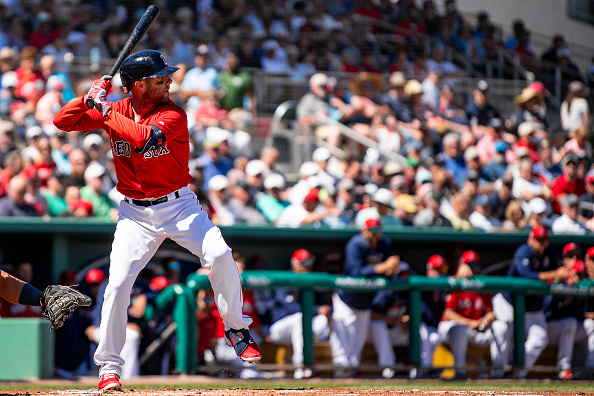 Dustin Pedroia Singles in First At-Bat of 2019 as #RedSox Fall to Twins