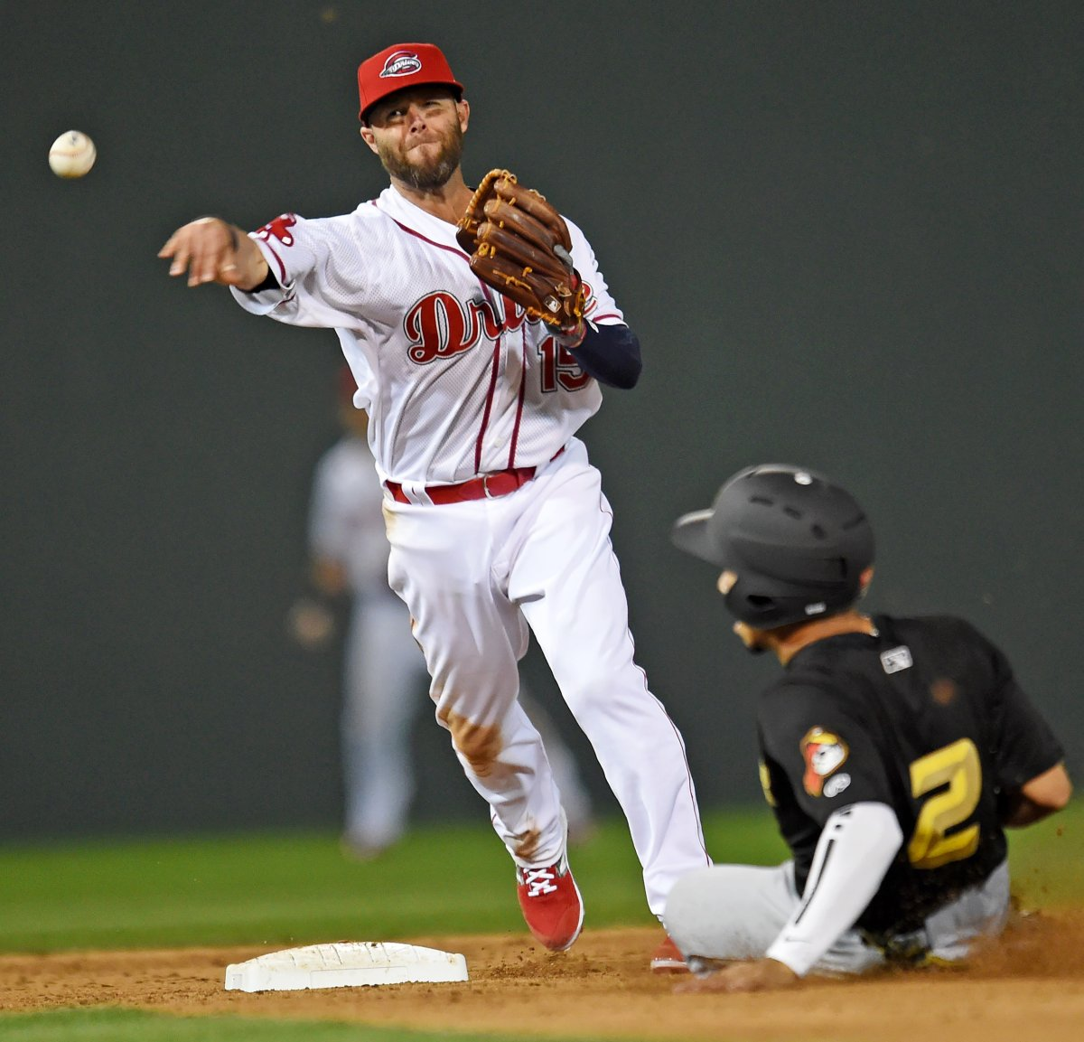 #RedSox' Dustin Pedroia Collects Two Hits in First Game of Rehab Assignment with Class A Greenville
