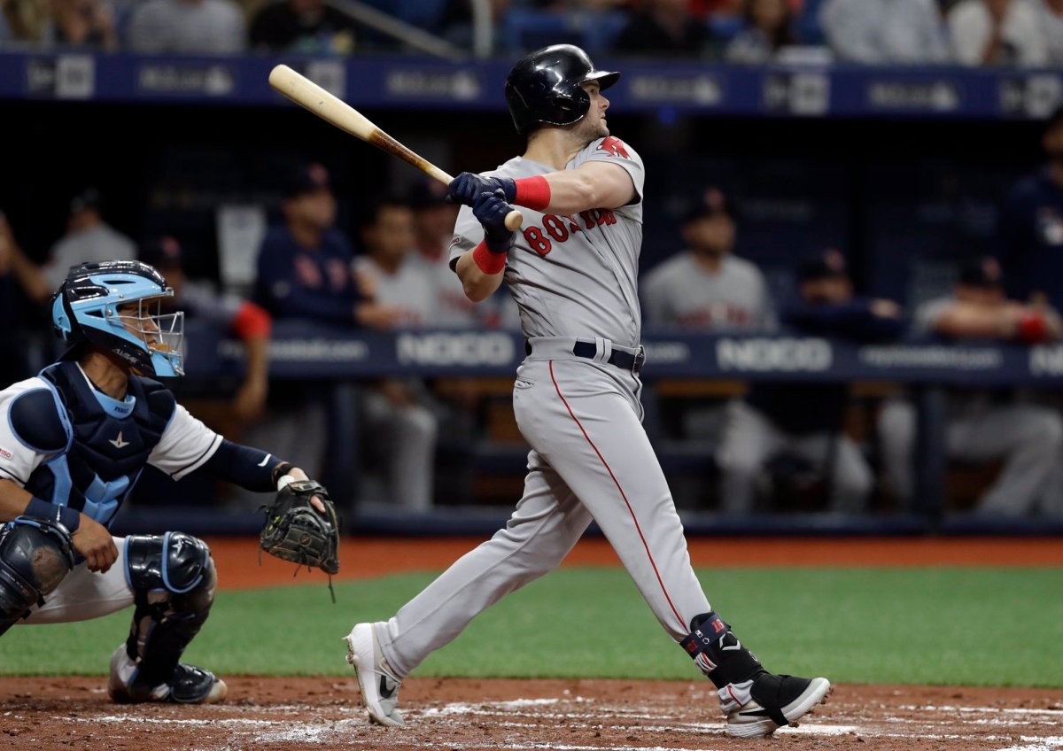 Andrew Benintendi Launches First Career Grand Slam as #RedSox Top Rays for First Series Win of 2019