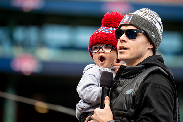 The Reason Brock Holt Was Placed on the Injured List with a Scratched Right Cornea: His Son, Griffin